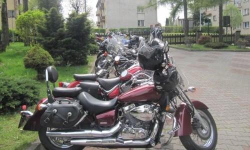 Zjazd motocyklistów z Chorzowa