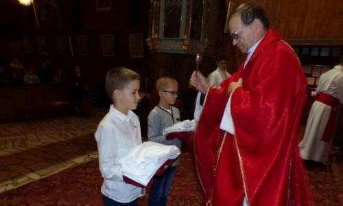 Obrzęd Przyjęcia ministrantów – Msza święta i agapa