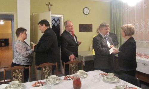 Spotkanie opłatkowe Parafialnej Rady Duszpasterskiej