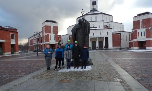 Wyjazd w czasie ferii zimowych – Wadowice, Kraków