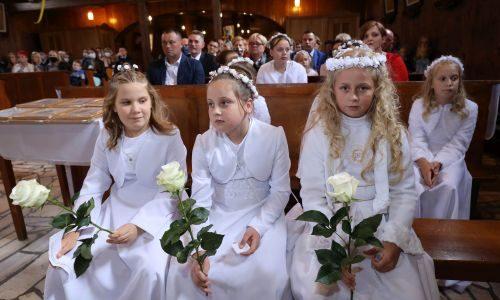 Pierwsza Komunia Święta – Nabożeństwo Eucharystyczne