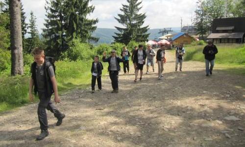 Wycieczka ministrantów w góry