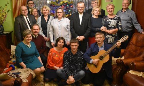 Spotkanie Opłatkowe Rodzin Domowego Kościoła